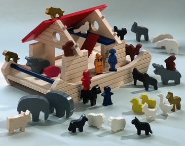 HABA Wooden Noahs Ark Set