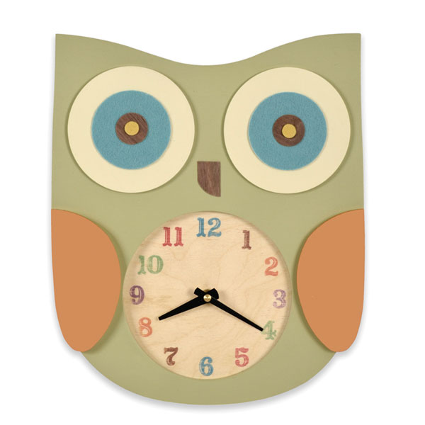 Wooden Owl Clock - Wooden Designs