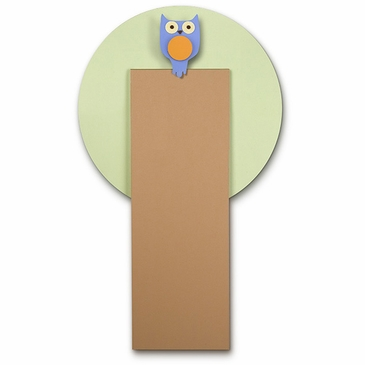 Handmade Wooden Growth Chart - Owl in Tree