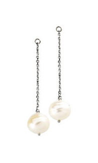 Hanging Round Pearl Earring Case