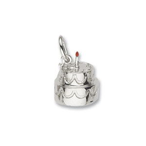 Happy Birthday Cake Charm by Forever Charms