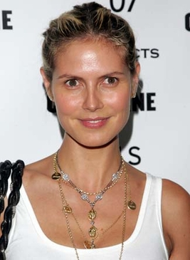 Heidi Klum on Oprah Family Necklace
