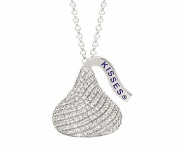 HERSHEY'S KISSES® Gemstone Necklace - Flat Back