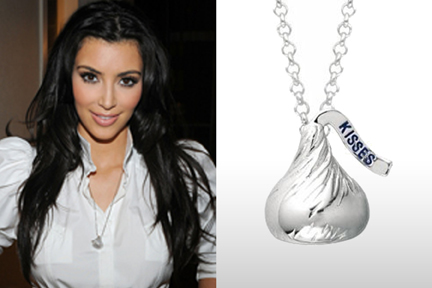 Hersheys kisses sterling silver necklace 3d as seen on kim hersheys kisses sterling silver necklace 3d as seen on kim kardashian bliss living mozeypictures Choice Image
