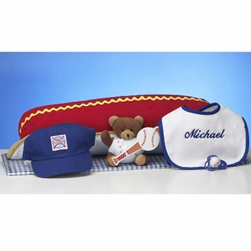 Hot Dog & Ball Park Gift Set (Personalized)