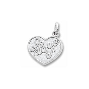 I Love U Charm by Forever Charms - Personalized