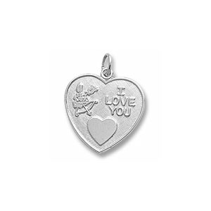 I Love You Charm by Forever Charms - Personalized