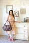 Jessica Taupe Diaper Bag by Timi & Leslie - click to Enlarge