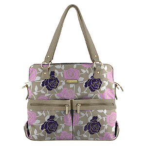 Jet Setter Versailles Tote Diaper Bag by Timi & Leslie