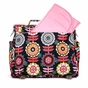 Ju-Ju-Be B.F.F. Dancing Dahlias Diaper Bag - click to Enlarge