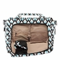 Ju-Ju-Be Be Classy Onyx Black Diamond Diaper Bag - click to Enlarge