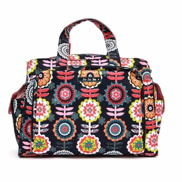 Ju-Ju-Be Be Prepared Dancing Dahlias Diaper Bag