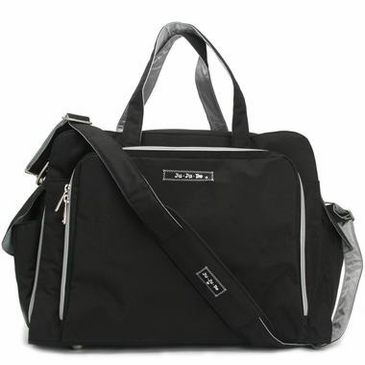 Ju-Ju-Be Be Prepared Diaper Bag - Black/Silver