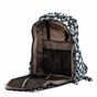 Ju-Ju-Be Be Right Back Onyx Black Diamond Diaper Bag - click to Enlarge