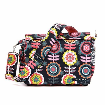 Ju-Ju-Be Better Be Dancing Dahlias Diaper Bag