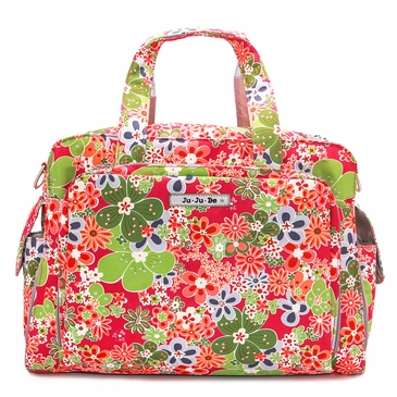 Ju-Ju-Be Classic Be Prepared Perky Perennials Diaper Bag