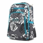 Ju-Ju-Be Classic Be Right Back Charcoal Roses Diaper Bag - click to Enlarge