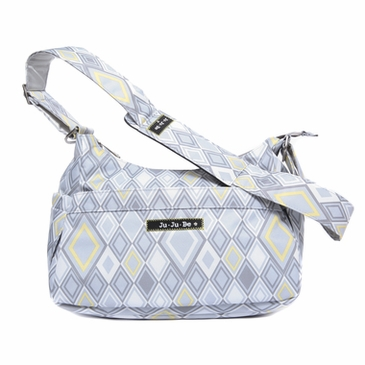 Ju-Ju-Be HoboBe Messenger Diaper Bag - Silver Ice