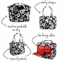 Ju-Ju-Be Legacy Be Classy The Imperial Princess Diaper Bag - click to Enlarge