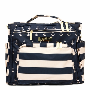 Ju-Ju-Be Legacy Nautical B.F.F The Commodore Diaper Bag