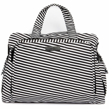 Ju-Ju-Be Onyx Black Magic Be Prepared Diaper Bag