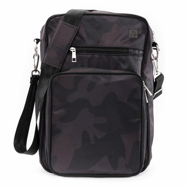 Ju-Ju-Be Onyx Black Ops Helix Diaper Bag