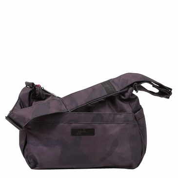 Ju-Ju-Be Onyx Black Ops HoboBe Diaper Bag