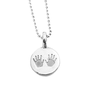 Julian & Co. Baby Hands or Feet Pendant Necklace
