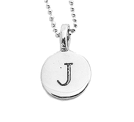 """Julian & Co."" Initial Pendant Necklace"
