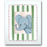 Jungle Junior - Elephant Framed Canvas Wall Art