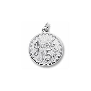 Just 15 Charm by Forever Charms - Personalized