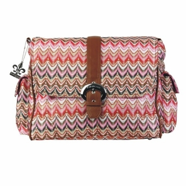 Kalencom A Step Above Diaper Bag - Ripples Sunburst