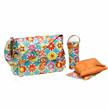 Kalencom Big Daisy Diaper Bag