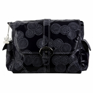Kalencom Coated Buckle Diaper Bag - Stitches Navy