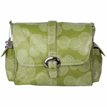 Kalencom Coated Buckle Diaper Bag - Stitches Olive