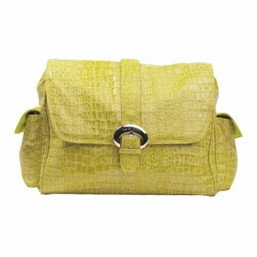 Kalencom Crocodile Diaper Bag - Crocodile Moss