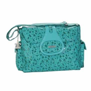 Kalencom Elite On the Rocks Diaper Bag - Teal