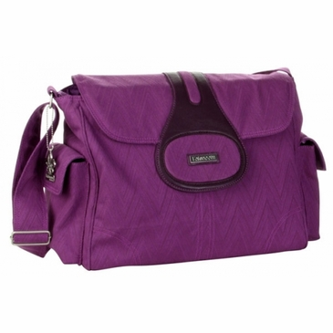 Kalencom Elite Pizazz Diaper Bag - Pizzazz Plum