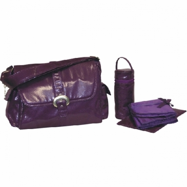 Kalencom Fire & Ice Diaper Bag - Grape
