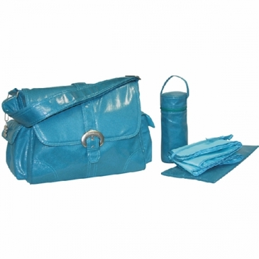 Kalencom Fire & Ice Diaper Bag - Turquoise