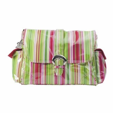 Kalencom Jazz Stripes Ruby Diaper Bag