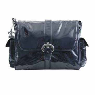Kalencom Laminated Buckle Diaper Bag - Navy Corduroy