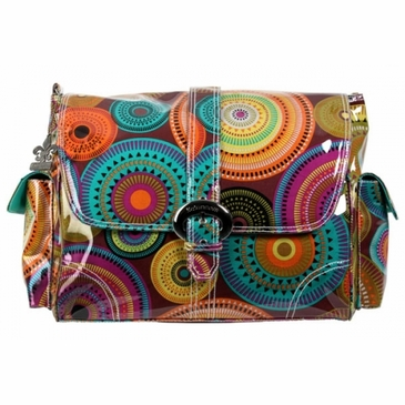 Kalencom Laminated Buckle Diaper Bag - Tequila