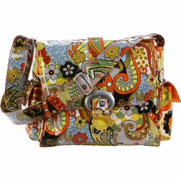Kalencom Midi Coated Buckle Diaper Bag Hannah S Paisley
