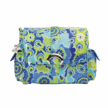 Kalencom Midi Coated Buckle Diaper Bag - Jazz Cobalt