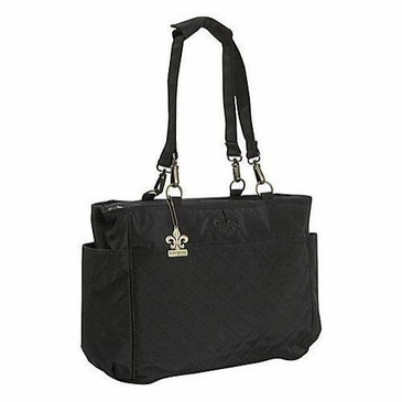 Kalencom N Orleans Quilted Diaper Bag Tote In Black