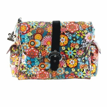 Kalencom Retro Floral Diaper Bag