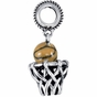 Kera™ Basketball & Hoop Dangle - click to Enlarge