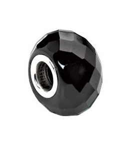 Kera™ Facted Black Onyx Natural Stone Bead