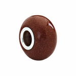 Kera™ Gold Sandstone Natural Stone Bead